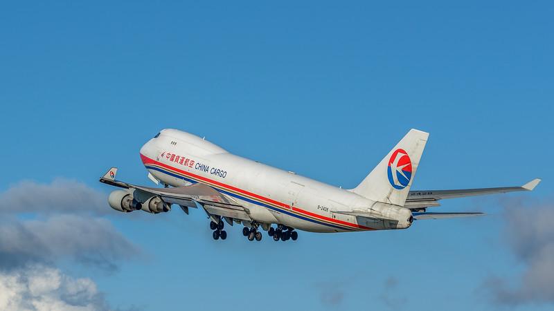 China Cargo 747 Departs Anchorage
