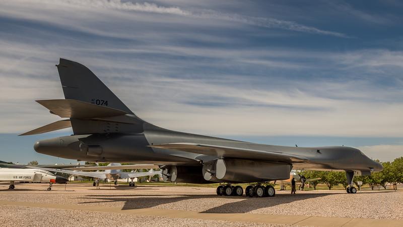 B-1 Lancer, Hill Aerospace Museum, Utah
