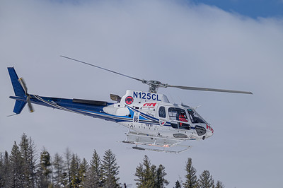 AS-350 A-Star Heliski