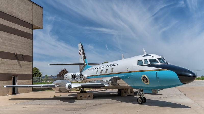 Lockheed Jetstar C-140B - Air Force One, Hill Aerospace Museum, Utah
