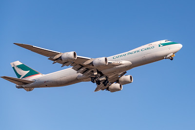 Cathay Pacific Cargo 747-8 Departs ANC for HKG