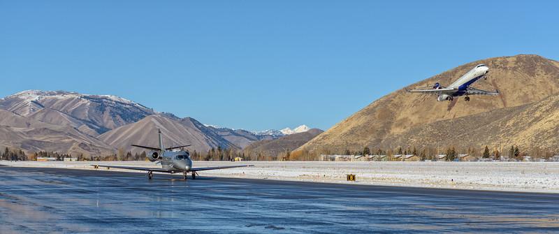 Friedman Memorial Airport, Hailey, Idaho