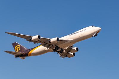 UPS B-747-8 Departs ANK for SDF