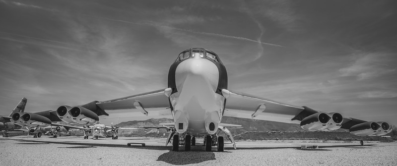 B-52 Stratofortress, Hill Aerospace Museum, Utah