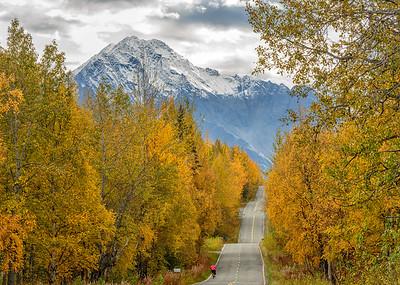 Fall on Alaska's Backroads and Pioneer Peak