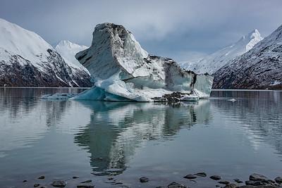 Iceberg - Portage Lake, Alaska