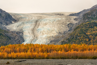 Alaska's Exit Glacier in the Fall