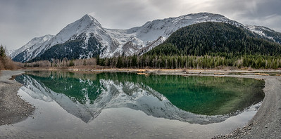 Reflection, Portage Creek, Alaska