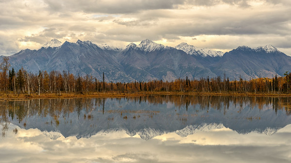 Fall in the Mat-Su Valley of Alaska