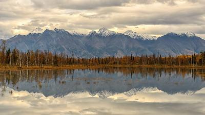 Fall in the Mat-Su Valley of Alaska