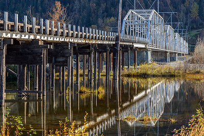 Old Knik River Bridge, Alaska