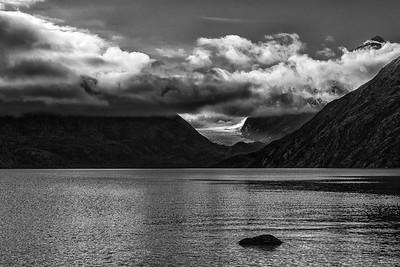 Portage Lake and Burns Glacier, Alaska