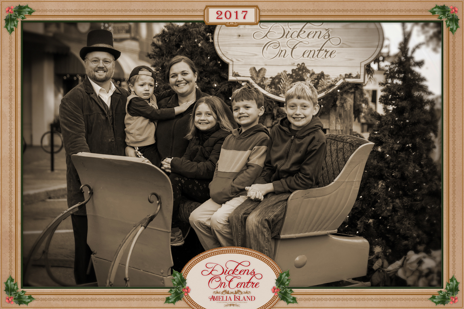2017 Dickens on Centre - Old Time Photos 172A - Deremer Studios LLC