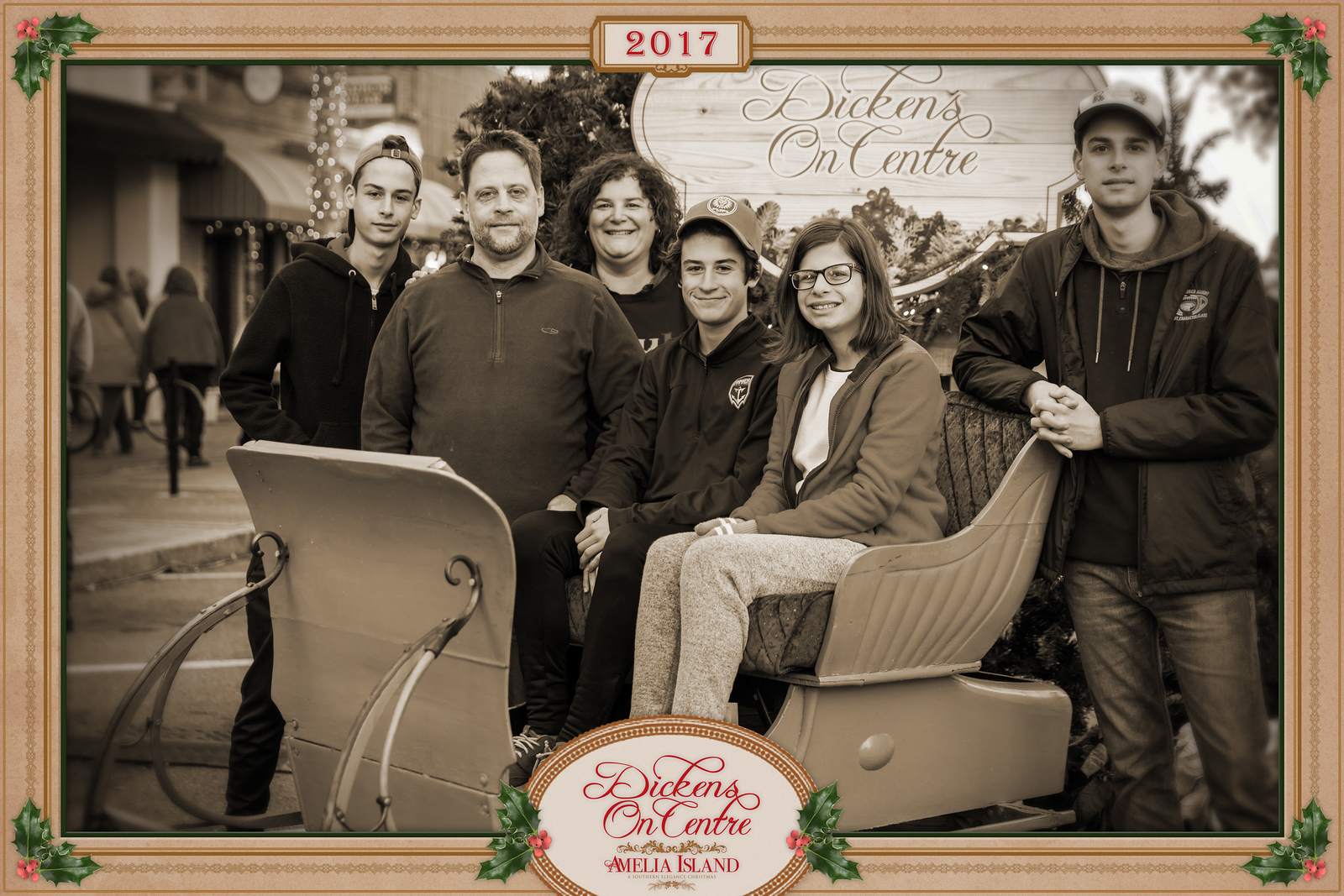 2017 Dickens on Centre - Old Time Photos 159A - Deremer Studios LLC