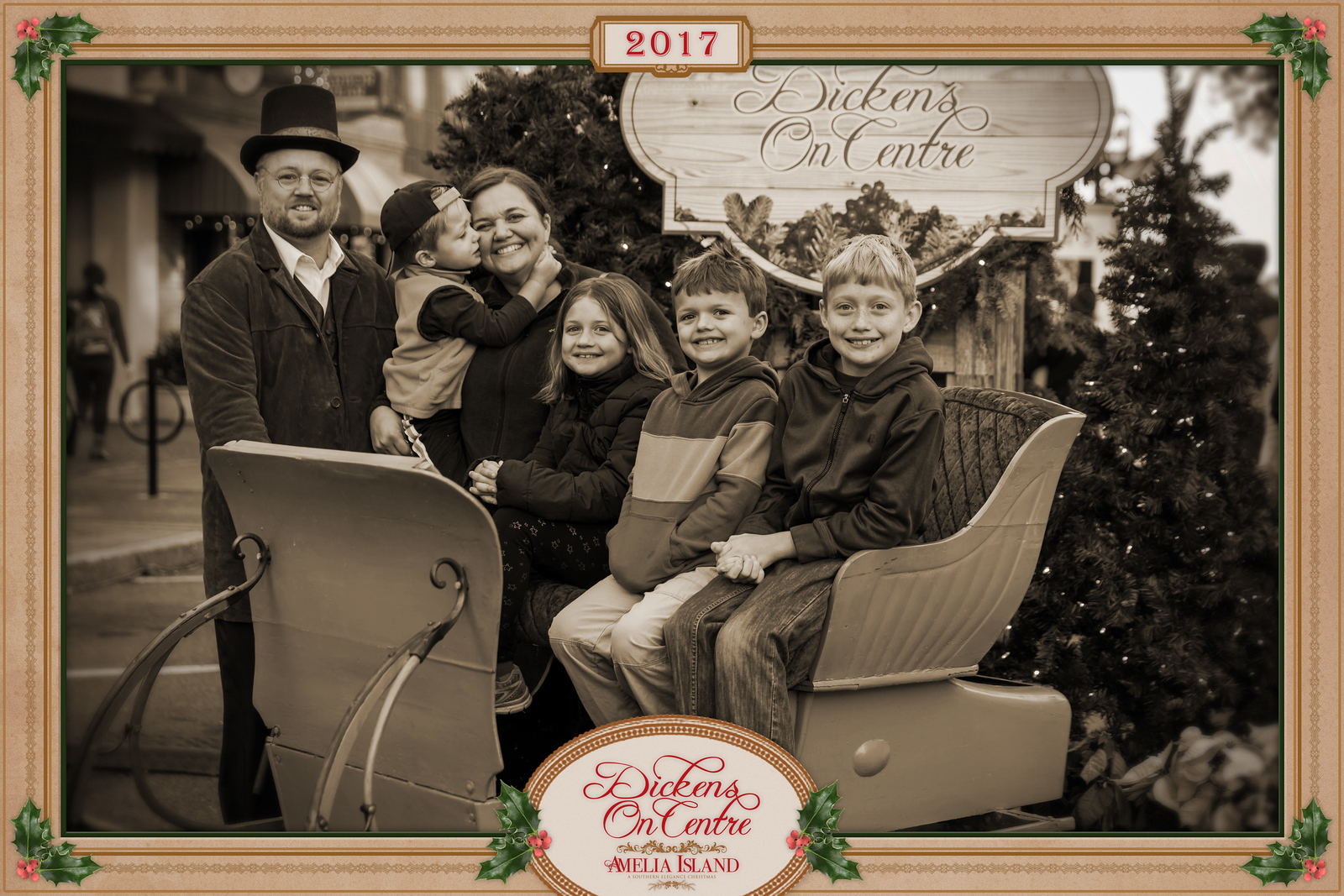 2017 Dickens on Centre - Old Time Photos 173A - Deremer Studios LLC