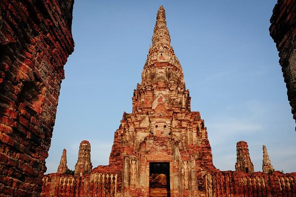Wat Chai Wattanaram main chedi