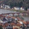 Bridge over the Neckar river in Heidelberg, Germany