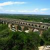 Le pont du gard near Avignon, France