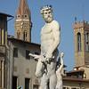 Sculpture of Neptune, Piazza della Signoria, Florence, Italy