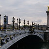 Le Pont Alexandre III, Alexander 3rd Bridge, Paris France