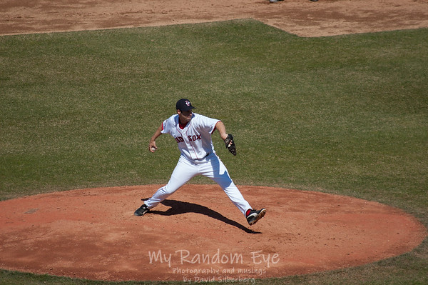 Location: Pawtucket, RI; Date: 2005-07-31; Paw Sox; World Series trophy day