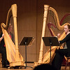 Katie Calderwood and Rachel Miller, harpists
