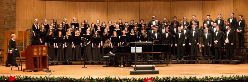BYUI Choir Concert Christmas in Snow 2017