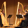 Katie Calderwood and Sarah Close, harpists