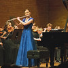 Clarissa Tracy, flute soloist with BYUI Symphony Orchestra