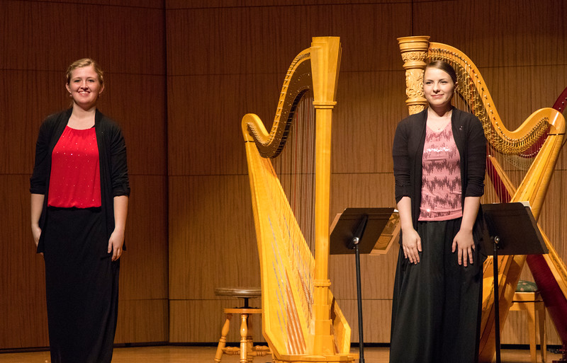 Katie Calderwood and Sarah Close, Harpists