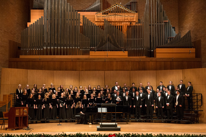 BYUI Choir Concert Christmas in Snow 2017