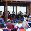 Cellists at Mountains and Strings Workshop, Harriman State Park, Island Park, Idaho, July 12, 2008. Print as 8 x 10