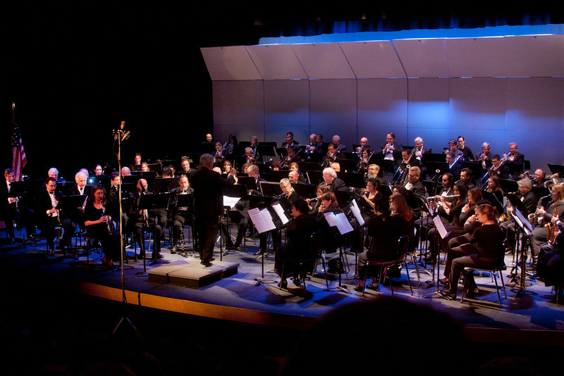 LA Pierce Wind Symphony in concert, Oct 2, 2011