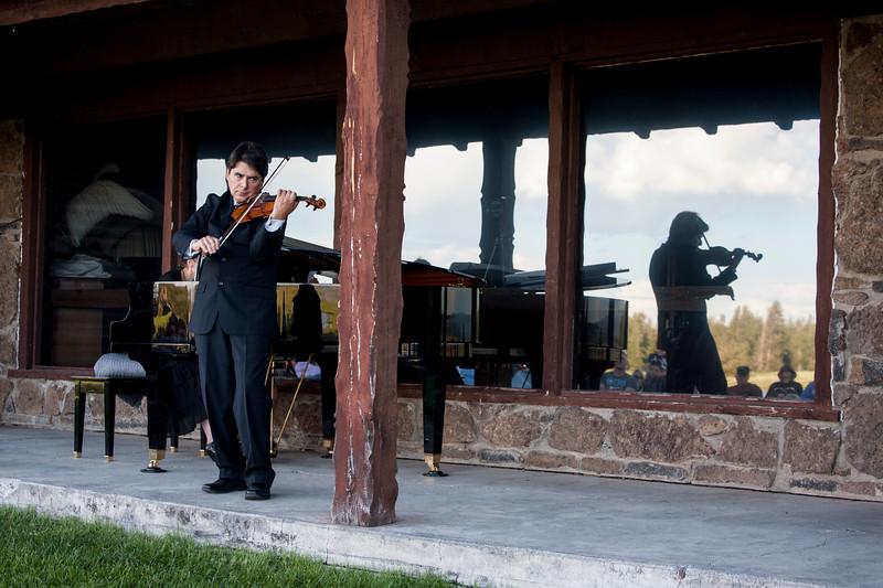 Eric Grossman, Violin