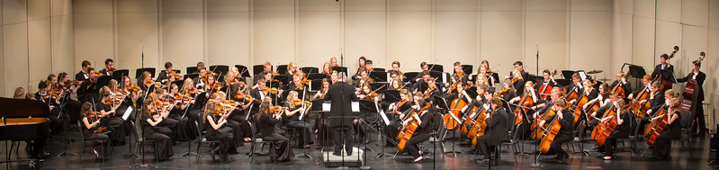Madison High School String Orchestra Concert May 2017