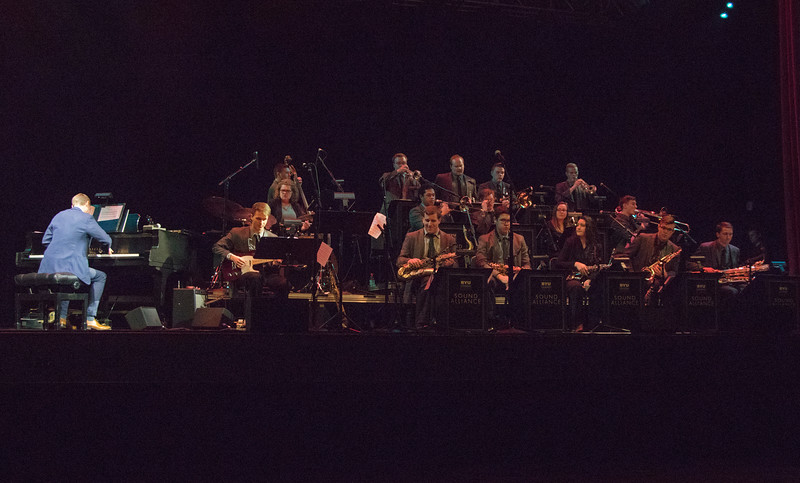 Benny Green and Sound Alliance Jazz Big Band