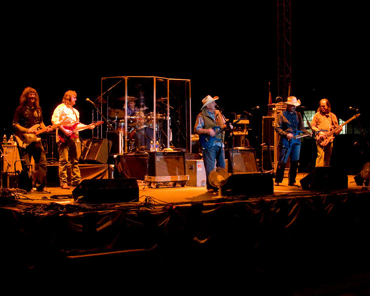 The Bellamy Brothers country band plays at the FMCA Motorhome Conference in Pomona, Feb 28th, 2008.