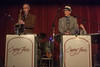 Charlie McCarthy and Brian Gould at the Swing Fever performance in Ilwaco, WA, Oct 14, 2012. Great going guys!