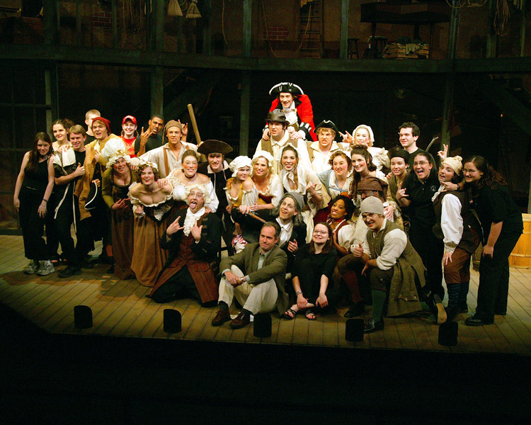 ASU's Beggar's Opera Cast 2004