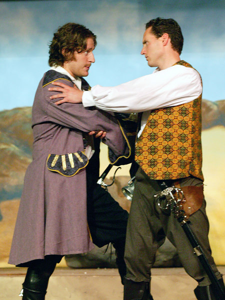 "King of the Pirates and Fredrick in Mack's Inn (Idaho) production of ""The Pirates of Penzance"" 2006"