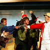 "Attack on the modern major general, at the Mack's Inn Theatre performance of ""Pirates of Penzance"", June 2006."