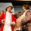 "The Modern Major General talks with the King of the Pirates in the Mack's Inn Theatre's (Idaho) production of ""The Pirates of Penzance"", June 2006."