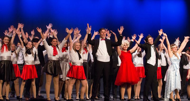 """Singin' in the Rain"", Madison High School"