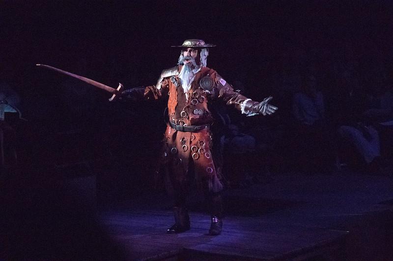 Don Quixote, played by David Olsen