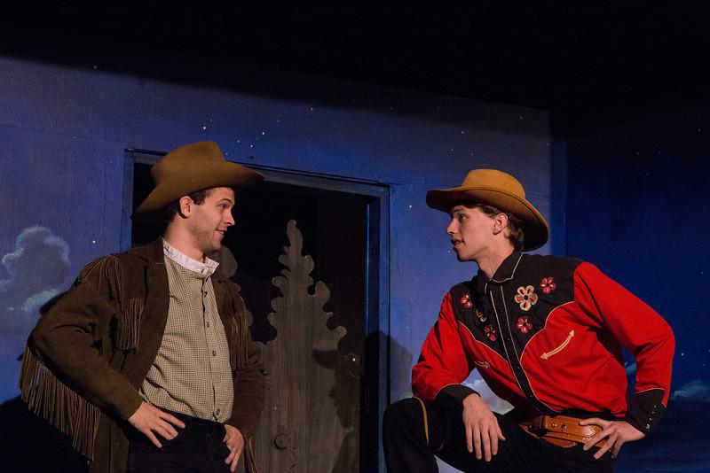Aaron Ross-Joe (as Joe),  and  Issac Jankowski (as Lefty). May 2013
