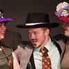 """Brenna Palfi, Darren Robinson  and Jillian Carter in """"Lucky Stiff"""" musical."""
