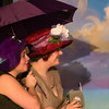 "Brenna Palfi and Jullian Carter in ""Lucky Stiff"" musical."