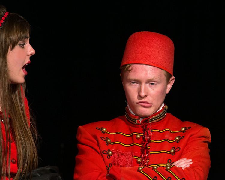 """Davis Underwood and Miriam Blaser  in """"Lucky Stiff"""" Musical"""
