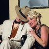 "Jenny Porter and Ryan Hoppman in ""Lucky Stiff"" musical."