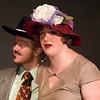 "Darren Robinson and Jill Carter in ""Lucky Stiff"" musical."